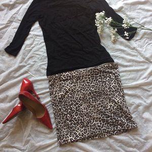 NWOT Cheetah Print Pencil Skirt